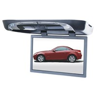 19 inches roof mount LCD car monitor with DVD player / flip down car DVD player