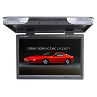 23 inches flip down car TFT LCD color monitor / roof mount TFT LCD car monitor