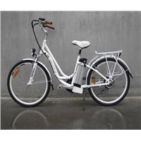 26'' lithium power electric bicycle with aluminium alloy frame/CE approval