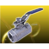 RV-2A  (2-PC  Ball Valve, Reduced Bore, Threaded End, 2000 WOG)