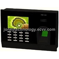 "3"" Colored LCD Fingerprint time and attendance reader"