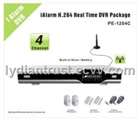 4-CH iAlarm DVR Standard Wireless Accessories Package