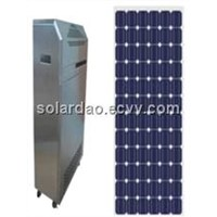 500 W solar power system, power supply system