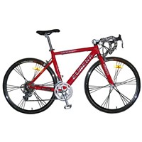 700C alloy racing road bike
