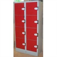 8Doors Red Charge Coin Locker