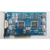 8 Chs Hardware Compression High Resolution (704 x576) DVR Card