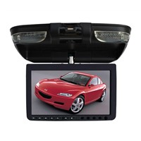 9 inches roof mount LCD car  monitor with DVD player /  flip down car DVD player