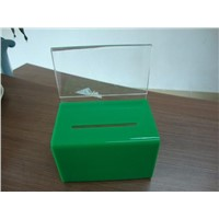 Acrylic donation box-25