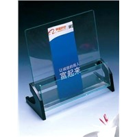 Acrylic File - Brochure Display Rack
