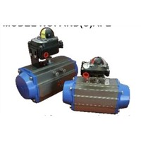 Aluminums ,Shall Dual Action,Single Action Type , Spring Return ,Pneumatic Actuators