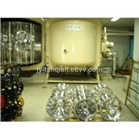 Auto wheel PVD vacuum coating machine