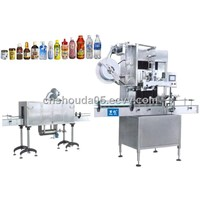 Automatic Sleeve and Shrink Labeling Machine