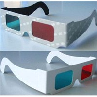 Blue & Red 3D Paper glasses