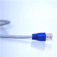 CAT5e LAN Cable, Compatible with PC, Mac, and Notebook