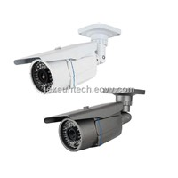 CCD Camera, Built-in 4-9mm Varifocal Lens OSD Menu Optional 420TVL-700TVL Weatherproof Bullet Camera