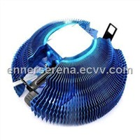 CPU Cooler with 30,000 Hours Lifespan and 90mm LED Fan, Support Intel LGA775/1155/1156 AMD AM2/AM3