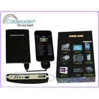 Cableader 10000mAh portable power bank for ipad mobile phone and all digital devices