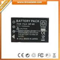 Camera Battery for FUJI NP60 1500mAh