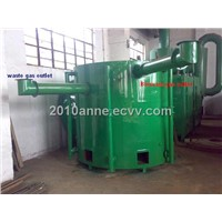 Carbonization stove,hoist loading type