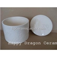 Ceramic Candle jars, candle holders, candle stand, tealight holders, interior decoration