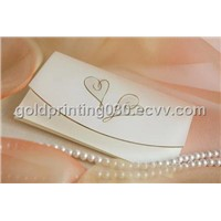 Charming wedding card printing