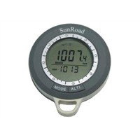 Climbing multifunction digital barometers IPX4 waterproof SR108N