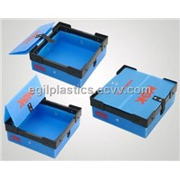 Collapsible Plastic Packaging Box