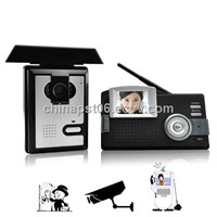 Color Wireless Video Door Intercom
