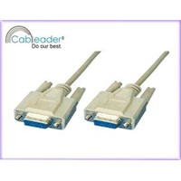 Computer Cables Null modem cable DB9F-DB9F