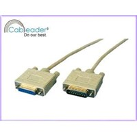 Computer Cables VGA Monitor CABLE, DB15M-DB15F
