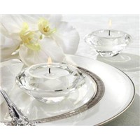 Crystal Diamond-Shaped Tealight Holder