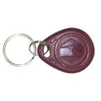 Customized Mahogany Plastic RFID Key Chain Tags for ID Card
