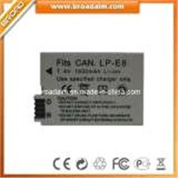 Digital Camera Battery LP-E8 for Canon