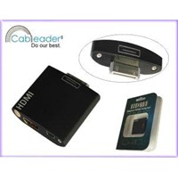 Dock to HDMI USB Adapter For ipad ipad2 iPhone4 iPod Touch 4G