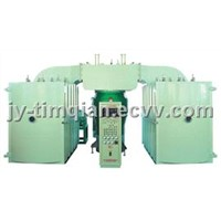 Double Chamber aluminum mirror coating machine