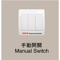 Fire Alarm Linkage Windows Controller-Manual switch