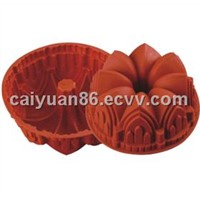 Flower shape Silicone Baking Mould (UHAB002)