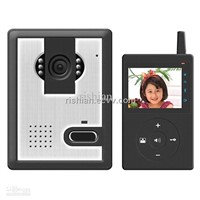 Free shippingvideo wireless doorbell intercom home,1/4 CMOS Built-in Surveillance Mode Function