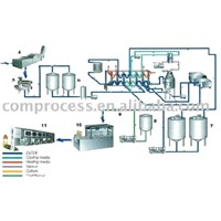 Fruit Juice Production Line Set