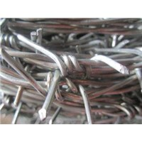 Galvanized Barbed Iron Wire for Woven Wires Fences to Form a Fencing System or Security System