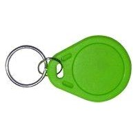 Green PVC Oval RFID Key Tags for ID Card