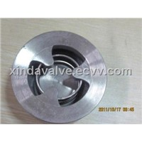 H71single plate lifting type wafer check valve