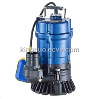 HS Series Japan Style Submersible Sewage Pump (HS7-7-0.55F)
