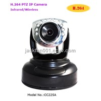 H.264 Wireless Infrared PTZ IP Camera/Wireless CCTV Camera
