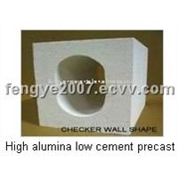 High Alumina Low Cement Precast