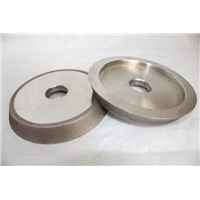 High precision CBN single bevel grinding wheel