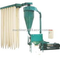 High yield wood powder making machine
