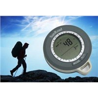 Hiking compass with altimeter, barometer, climb rate, weather forecast SR108N
