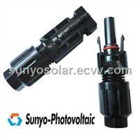 IP68 copper silver plated solar connector