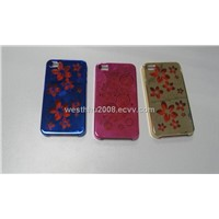 Iphone 4G laser etching + plating+UV